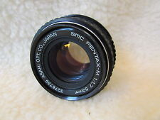 asahi opt co SMC Pentax M 50mm F1.7 Manual Focus Lens  ref r1