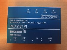 Ericsson Eripower PKC 2131 PI, Power Module, In 18-36, out +5/+12/-12, Pout 15W
