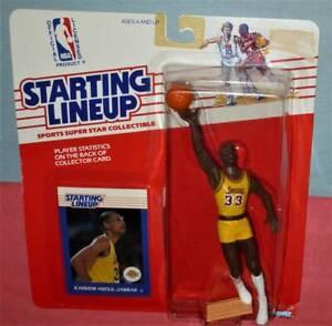 1988 KAREEM ABDUL-JABBAR #33 Los Angeles Lakers *FREE_s/h* 1st Starting Lineup