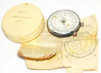KL-1 VINTAGE SOVIET ROUND SLIDE RULE LOGARITHMIC CALCULATOR