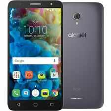 "ALCATEL POP 4 BLACK 5"" 8 GB 4 G Sbloccato Android Mobile Skype Viber WHATSAPP"