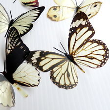 100 Pack Butterflies - Creme - 5 to 6 cm - Topper, Weddings, Crafts, Cards,