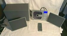 BROOKSTONE mwCDv1.0 Compact FULL SOUND AM/FM Stereo CD player SYSTEM 2.1 Speaker