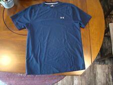Men's Under Armour Heat Gear shirt, navy, size S