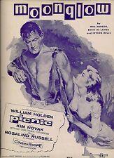 Picnic Movie Sheet Music 1956 WILLIAM HOLDEN,KIM NOVAK