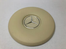 New Ivory Steering Wheel Horn Pad & Emblem Fits Mercedes 108 109 111 113 114 115