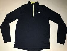 Under Armour Men's Shirt Size M All season Fitted Long Sleeve Infrared Running