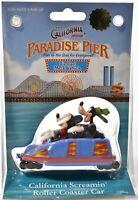 Disney CALIFORNIA ADVENTURE Die-Cast Metal Ride Screamin Roller Coaster NIB c788