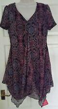 Joe Browns Paisley Lagenlook Dress Size 12 BNWT