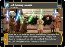 STAR WARS TCG WOTC JEDI GUARDIANS JEDI TRAINING EXERCISE 57/105 FOIL GEM MINT