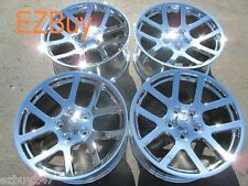 "20"" Dodge Ram 1500 SRT10 Style Set of Four New Chrome Wheels Rims 2223"