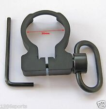 Quick Detach QD Sling Swivel  Clamp-on Single Point Sling buffer tube Adapter #7