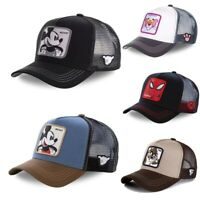 New Men Women Baseball Cap Animal Cartoon Mesh Snapback Trucker Sports Hat