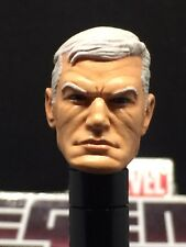 MARVEL LEGENDS PAINTED/FITTED OLD MAN STEVE ROGERS (CAP.AMERICA) 1:12 HEAD CAST