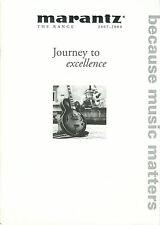 Marantz HiFi catálogo folleto 07/08 sr8002 dv7001 zr6001 pm7001 sa7001 pm6002