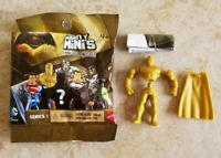 Mighty Minis Batman v Superman Series 1 Gold Superman from Blind Pack New 36350