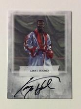 Larry Holmes Firmato Autografato BOXE CARD Ringside 2009 Muhammad Ali