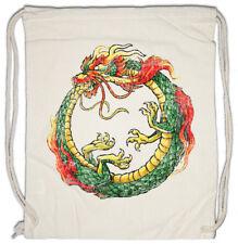 OUROBOROS INFINITY CHINESE DRAGON Turnbeutel China Uroboros Snake Asia