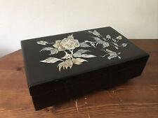 Beautiful Mother of Pearl Jewellery Box
