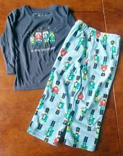 """Jammies for your Families Pajamas size 2T Nutcrackers """"We March to our own Drum"""""""