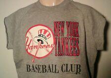 New York Yankees MLB Licensed Gray Garan Inc Sweatshirt Mens Made in USA