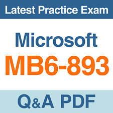 Microsoft Dynamics AX Financial Practice Test MB6-893 Exam Q&A PDF