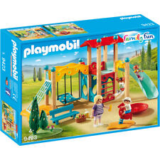 Playmobil Family Fun Park Playground Playset - 9423