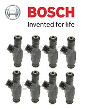 For BMW E38 740i E39 540i E53 Set of Eight Fuel Injectors OEM Bosch 0280155823