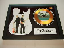 THE SHADOWS   SIGNED GOLD CD  DISC