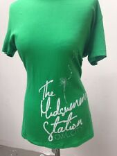 OWL CITY The Midsummer Station BEAUTIFUL Green Band T-SHIRT Woman XL long