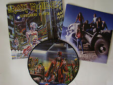 IRON MAIDEN - SOMEWHERE IN TIME LP PICTURE