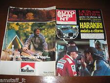 AUTOSPRINT 1976/44=GP F1 GIAPPONE=JAMES HUNT=NIKI LAUDA=