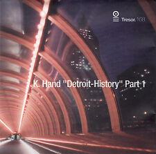 "K. HAND : ""DETROIT-HISTORY"" PART 1 / CD (TRESOR RECORDS TRESOR.168) - NEUWERTIG"