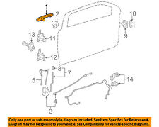 GM OEM-Outside Exterior Door Handle Left 15803519