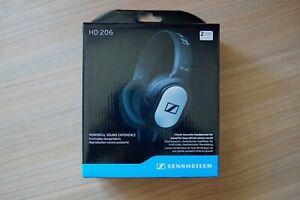 Genuine Sennheiser HD 206 Over-Ear Wired Headphones - Brand new