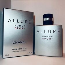 Chanel Allure Homme Sport Eau De Toilette Spray 3.4 oz NEW SEALED. AUTHENTIC