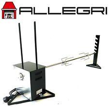 ALLEGRI® Girarrosto Tournebroche Asador Grill 220v Velocita Variabile 120 cm