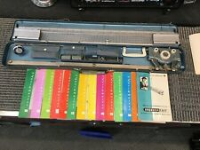1950's Brother-knit Knitting Machine Vintage Complete Great Condition w/13 books
