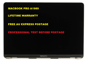 """New Apple Macbook Pro 13"""" A1989 2018 2019  Full LCD Screen Assembly Space Gray"""