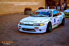 Nissan 200sx S14 Silvia Rocket Bunny Style Basic Body Kit for Racing, Drift V6