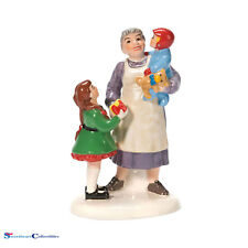 Department 56 Snow Village Grandma Favorite Present Nib