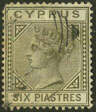 Cyprus  1881  Scott # 15  USED