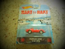 2013 Hot Wheels Hart to Hart Ferrari Dino 246GTS new in sealed package.