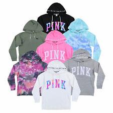 Victoria's Secret, розовый с капюшоном кампус кроссовер туника пуловер новый с ценниками новый