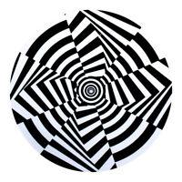Op Art - OP Art 7 Slipmat Black / White