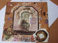 "Horse Flies:   Hush Little Baby   Near Mint   UK   7""  Promo + press release"