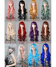 """32"""" Heat Resistant Long Lolita Curly Wig ombre Wavy Wigs for Party Anime Costume"""