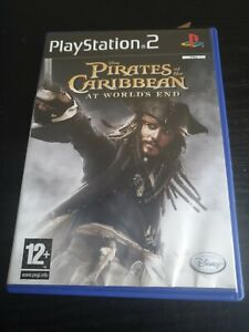 Pirates of the Caribbean At World's End Playstation PS2 Video Game Manual PAL