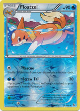 Floatzel Rare Reverse Holo Pokemon Card XY2 Flashfire 29/106