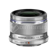 Olympus M.Zuiko Digital 25mm f/1.8 Lens Silver Brand New BNIB